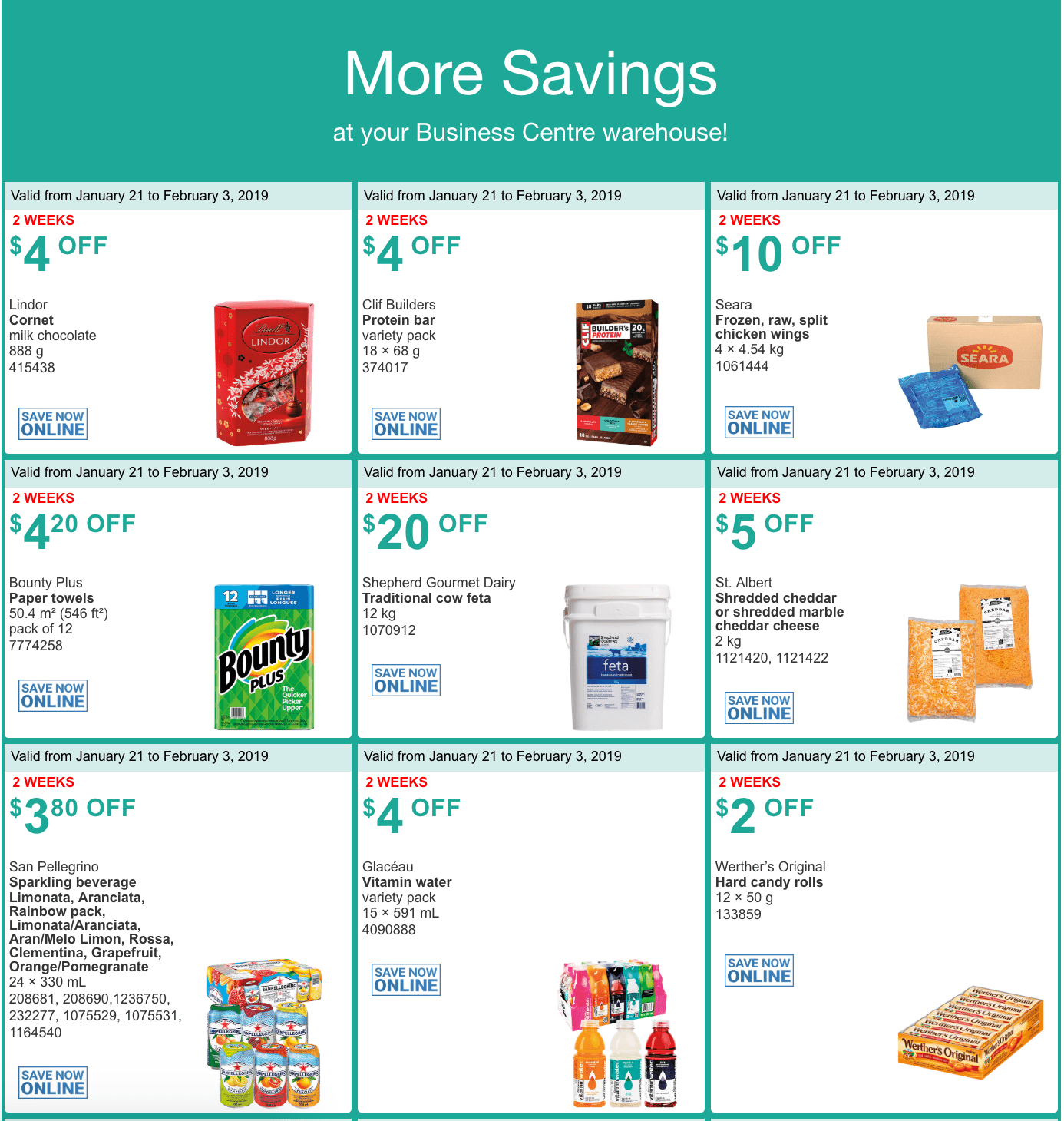 coupons for january 3 2019