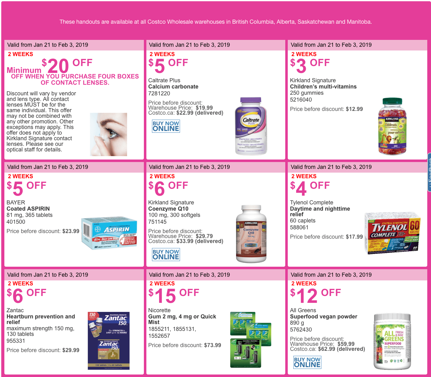 Page 35 of 548 - Canadian Deals, Coupons, Discounts, Sales