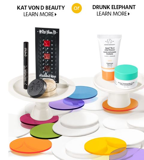 Sephora Canada Offers A Free Birthday Gift To All Beauty Insiders And This Year There Are Two Brand New Choices For 2019 You Can Choose Between Kat Von