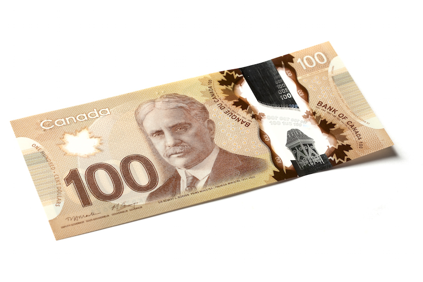 Beware of Counterfeit Canadian Bills