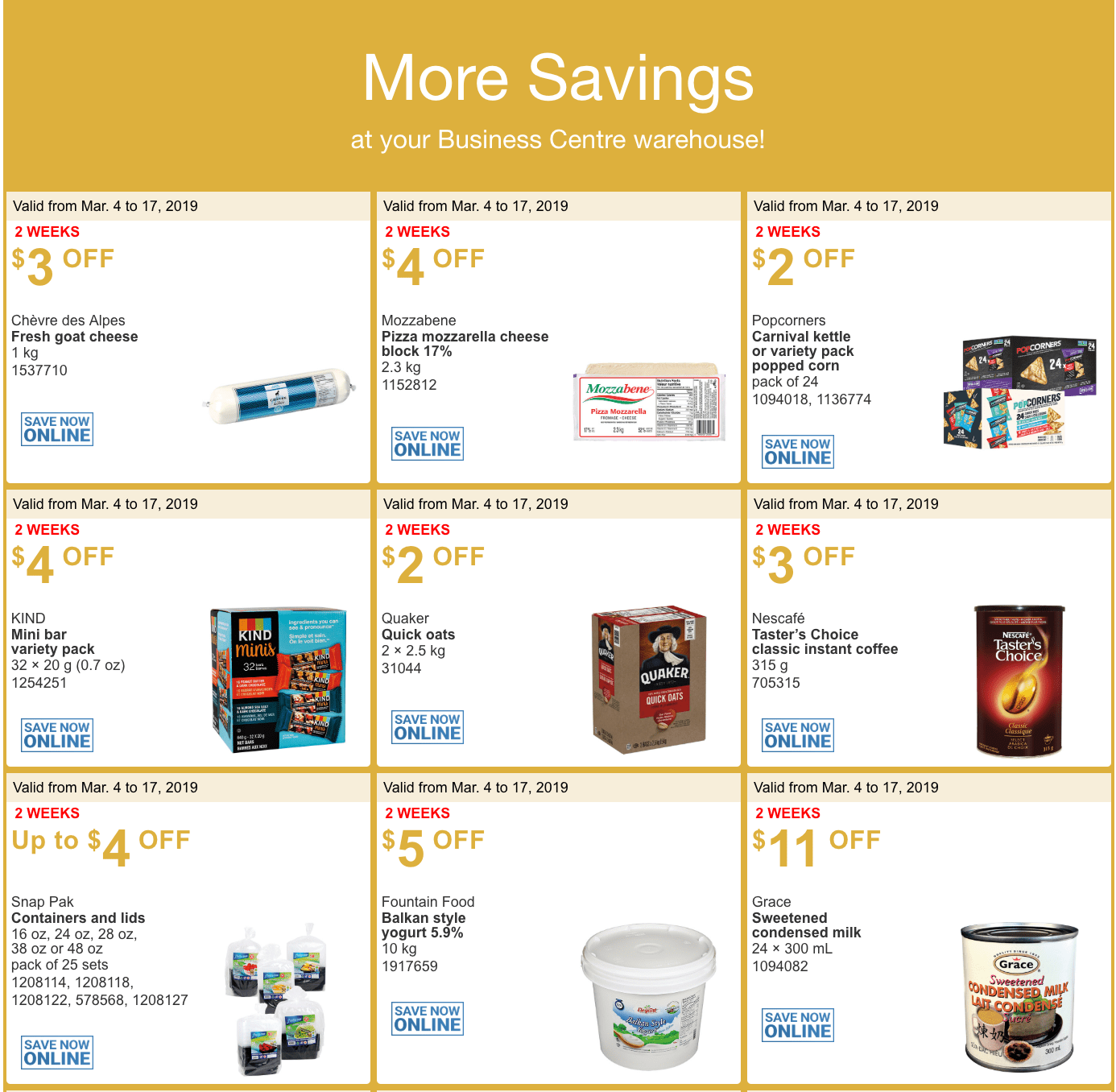 costco canada coupons march 2019