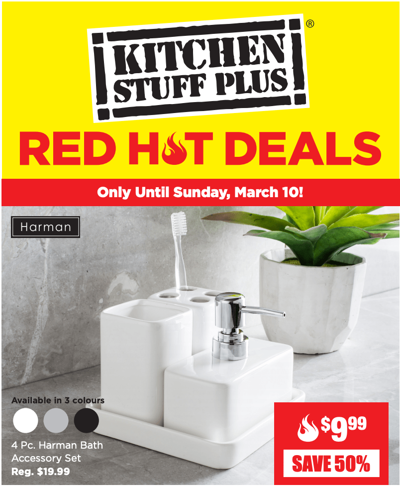 Kitchen Stuff Plus Canada Red Hot Sale: Save 60% on 10 Pc ...