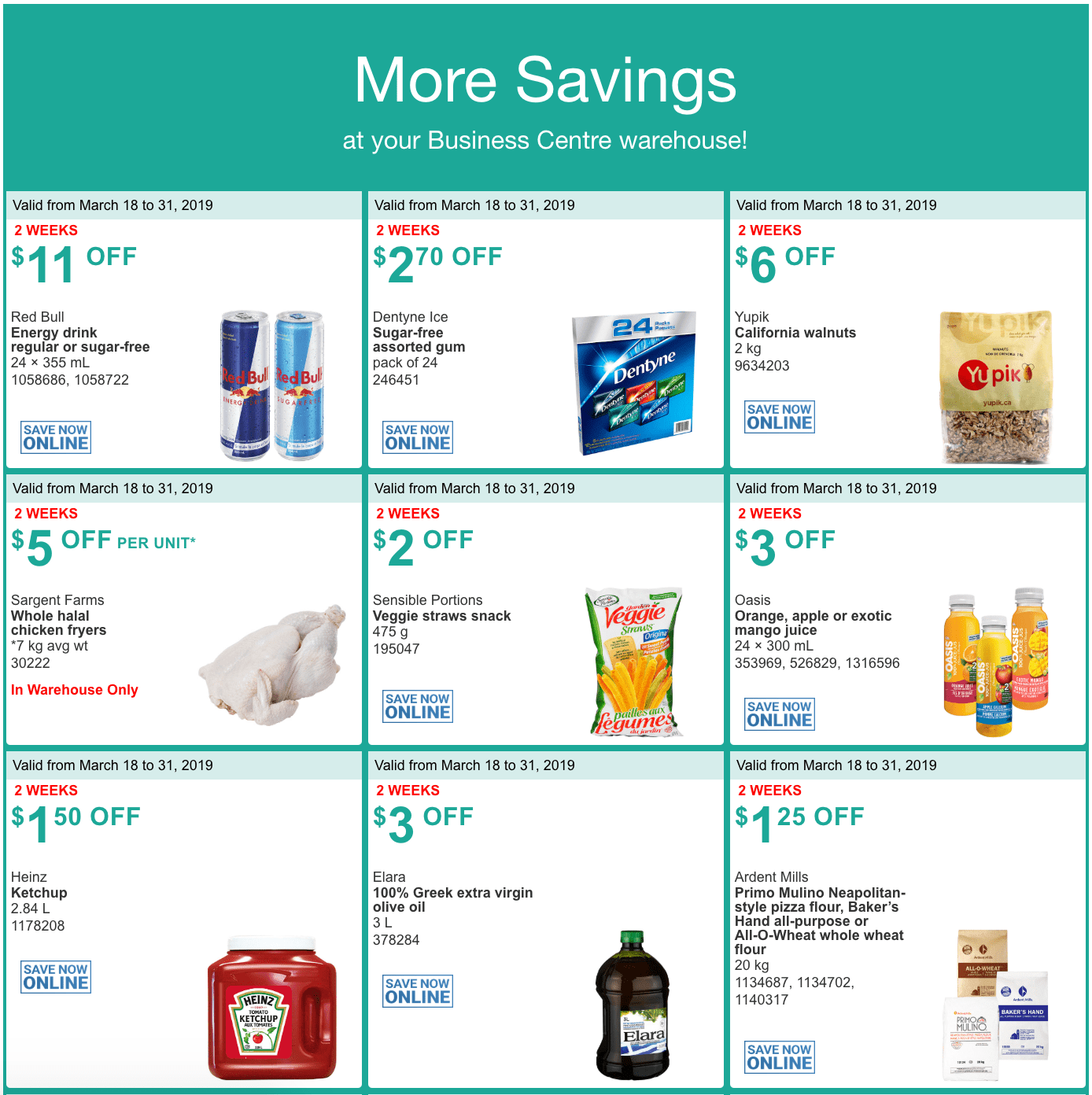 Today's Coupons