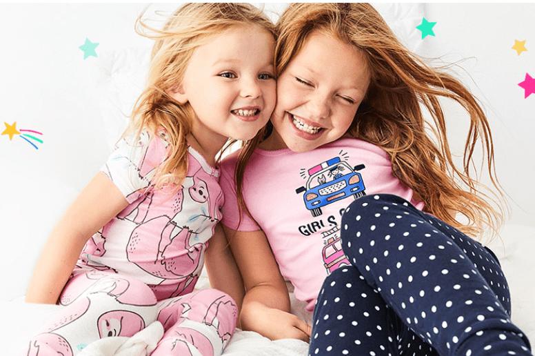 Carter's OshKosh B'gosh Canada Sale: Save 25% off Pj Sets, Nightgowns Graphic Tees + BOGO 50% Off Socks!