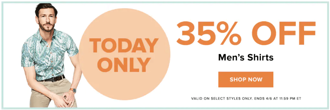 65824130aa Hudson's Bay Canada Sale: Save 35% Off Men's Shirts + up to 50% off Pillows  & Duvets + Extra 15% Off + More