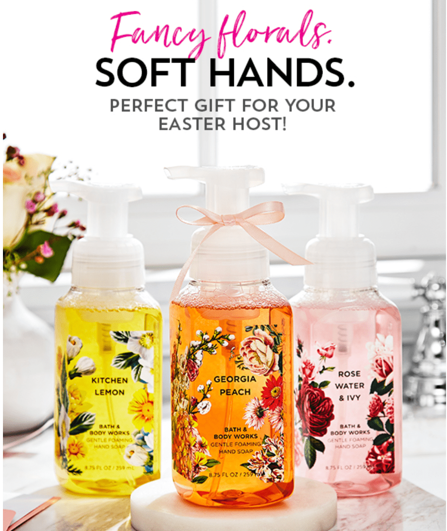 Bath & Body Works Canada Coupon: Save 20% Off Your Entire Purchase +