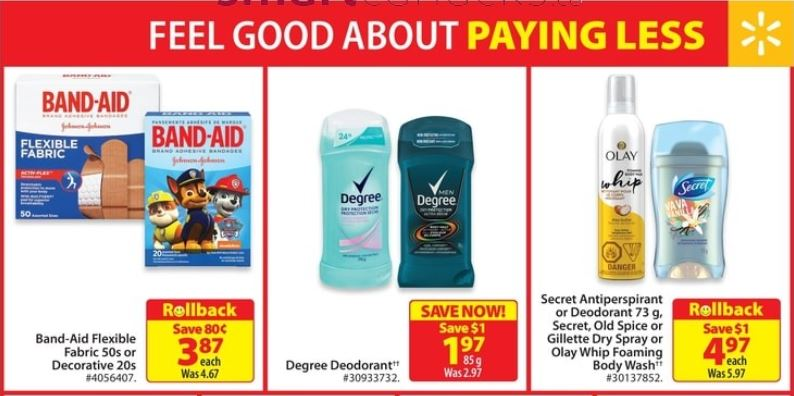 Walmart Canada: Free Degree Deodorant After Coupon