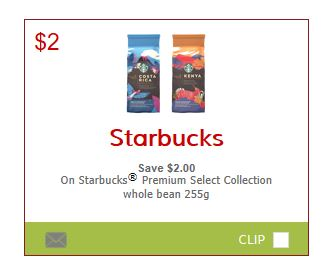 picture regarding Printable Coffee Coupons known as Canadian Discount coupons: Preserve $2 Upon Starbucks Quality Pick Espresso