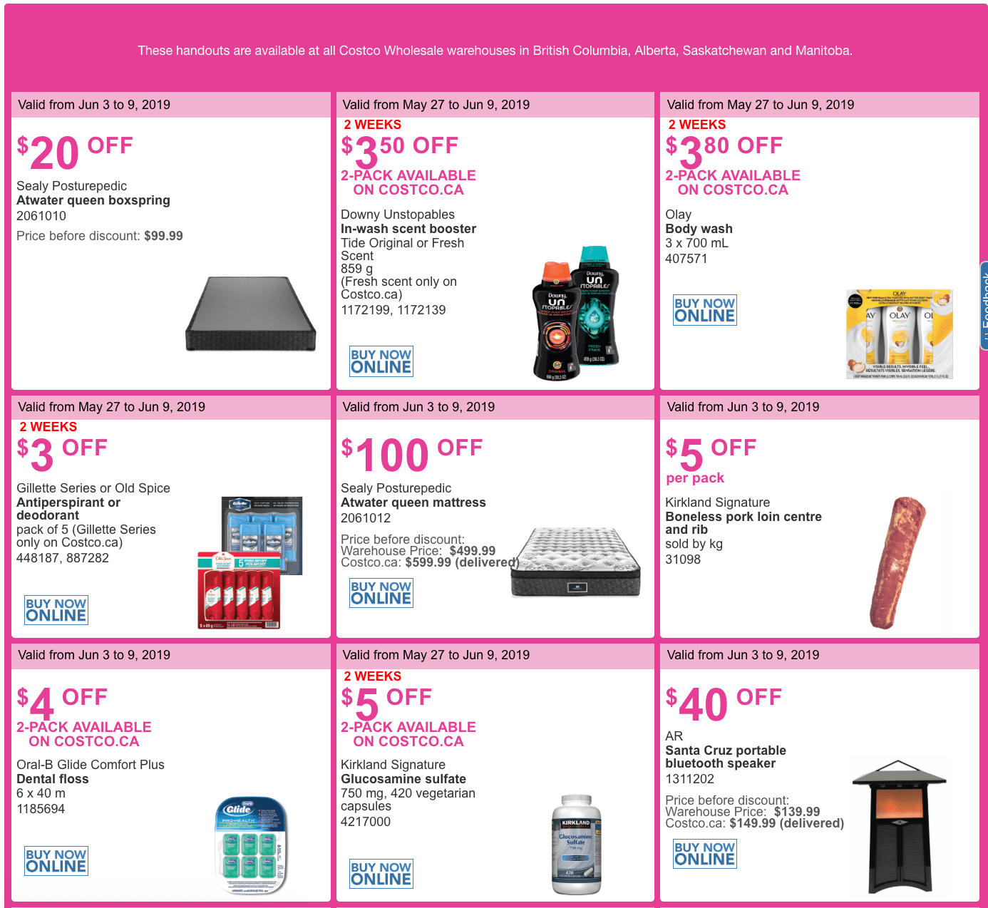 colombia coupons
