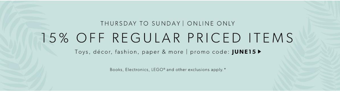 Indigo Canada Weekend Deal: Save 15% Off Décor, Toys, Fashion & More Using Promo Code