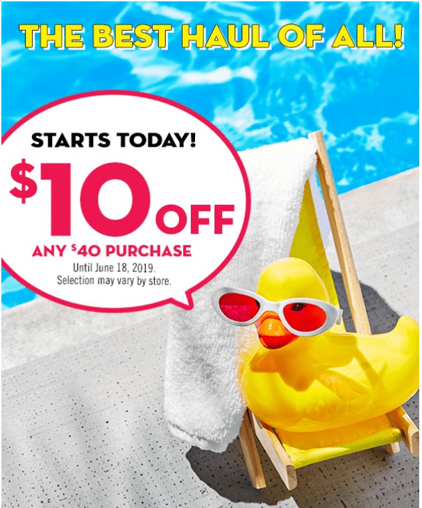 Bath & Body Works Canada Deals: Save $10 Off $40 Using Coupon + Semi Annual Sale