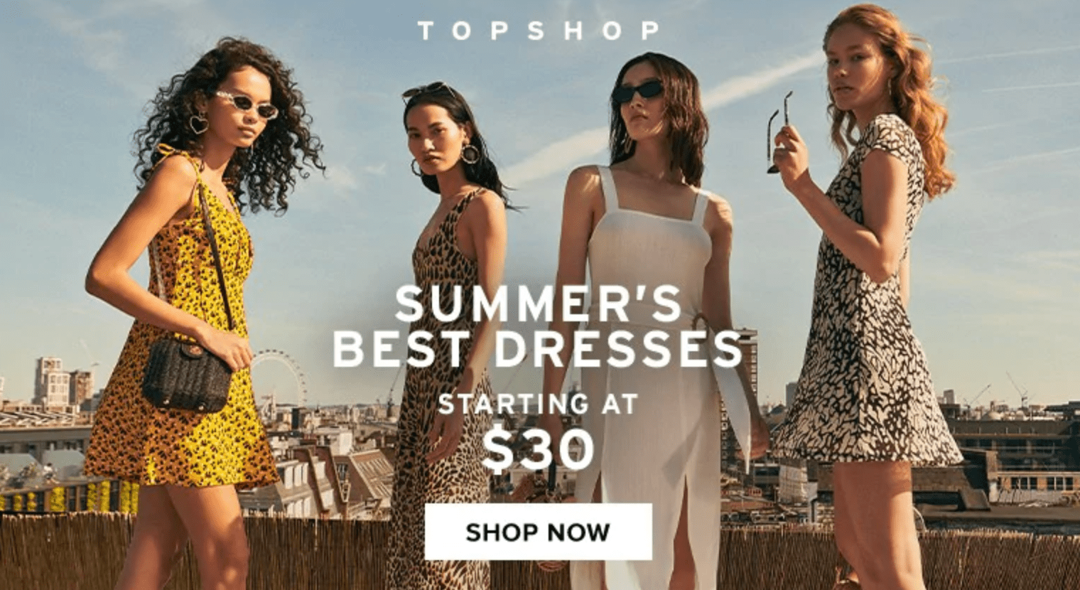 Hudson's Bay Canada Sale: $30 Topshop Dresses + Clearance on Kids & Baby Items