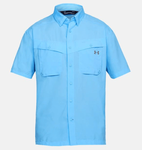 b99725aaf7b6 This UA Tide Chaser Men's Fishing Short-Sleeve Shirt is on sale for only  $44.99 (originally $59.99) as part of the 25% off deal on essential summer  gear.