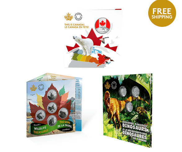 Royal Canadian Mint NEW Coins: 2019 Discovery Collection +