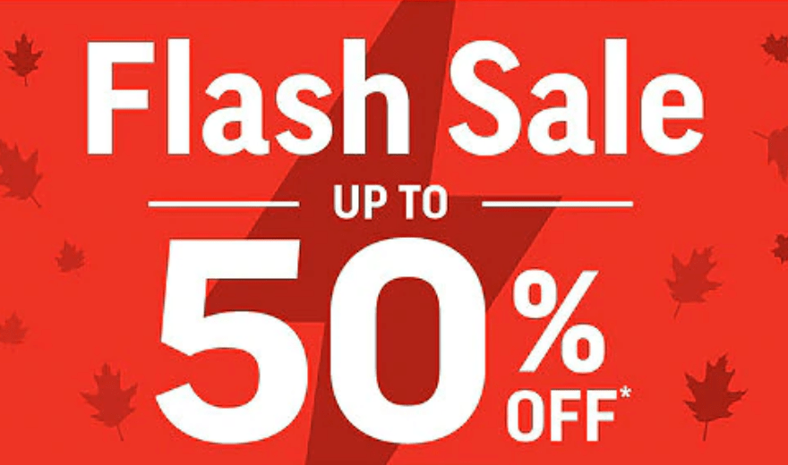 Sport Chek Canada Flash Sale: Save Up to 50% Off + FREE Shipping