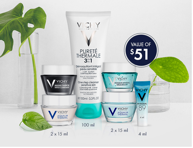 Vichy Canada Promotions: FREE 6-Piece Gift With Purchase