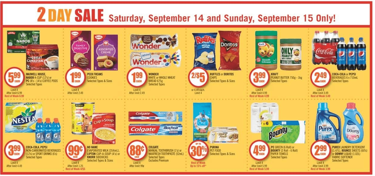 Canadian Freebies Coupons Deals Bargains Flyers
