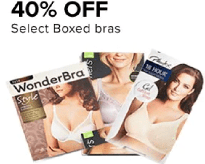 Hudson's Bay Canada Friends & Family Sale: Save 40% off Select Boxed Bras + an Extra 15% – 20% Off Using Promo Code