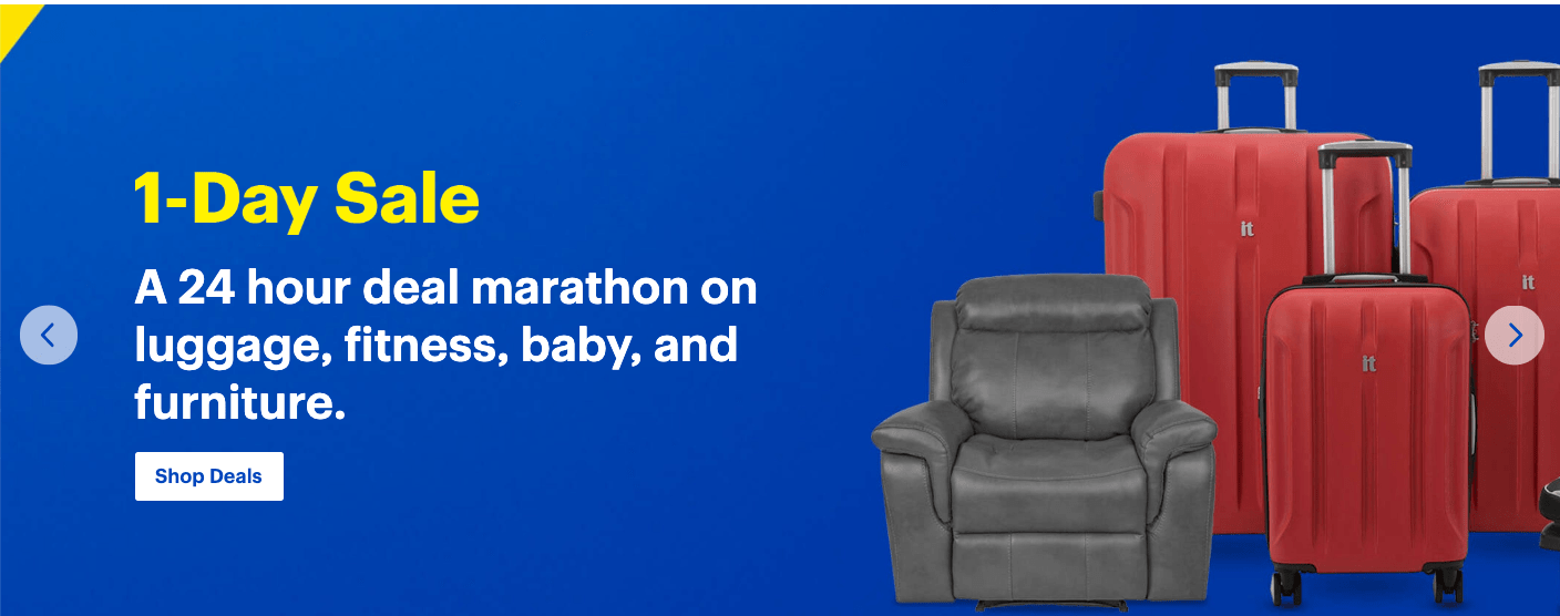 Best Buy Canada 1-Day Flash Sale: Huge Savings on Luggage, Fitness, Baby & Furniture, Today!