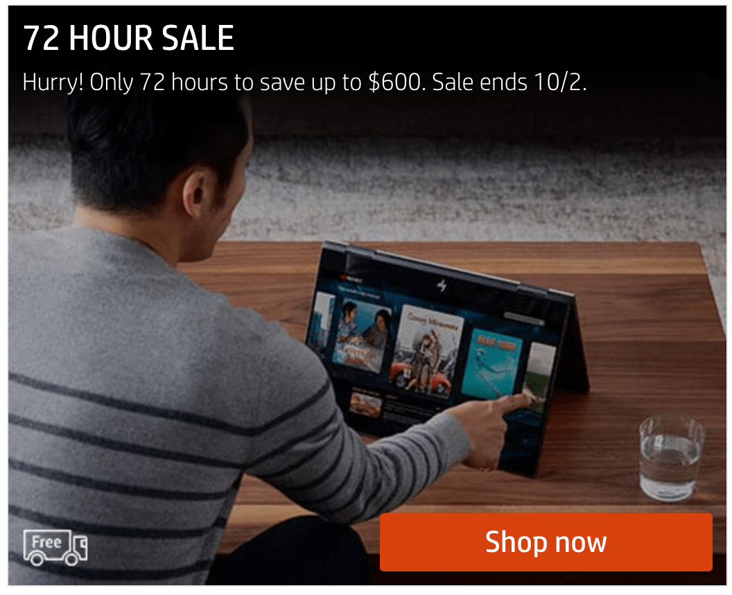 HP Canada 72-Hour Sale: Save Up to $600 Off Sitewide + More