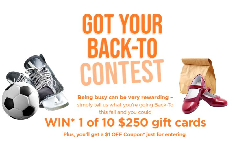 Janes Canada: Enter The Back-To Contest And Get A $1 Coupon