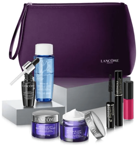 Hudson's Bay Lancôme Canada Deals: FREE 7-Piece Gift ( A $179 Estimated Value) with $49 Purchase + FREE Shipping