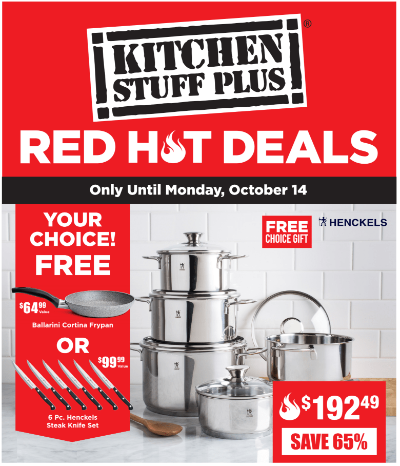 Kitchen Stuff Plus Canada New Red Hot Sale: Save 65% off 10 ...