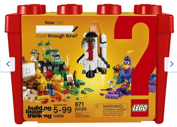 Toys R Us Canada Deals: Save 50% Off LEGO Building Bigger Thinking Mission to Mars, with FREE Shipping