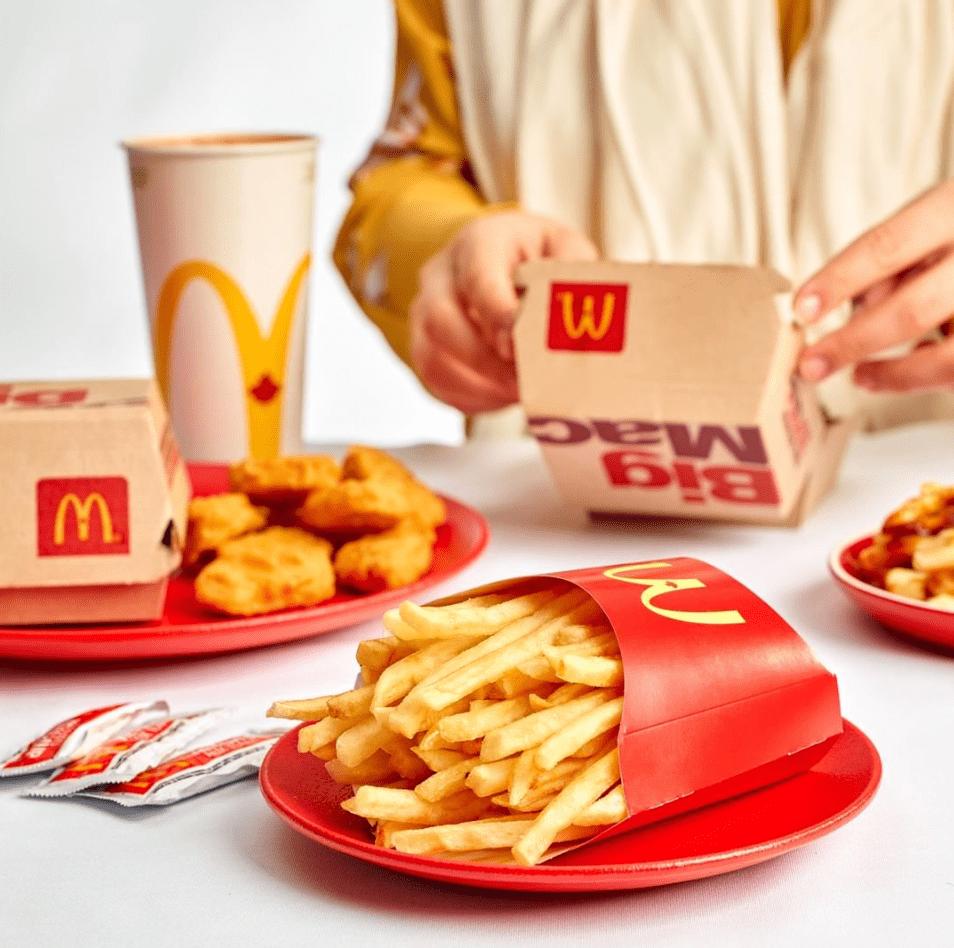 FREE Big Mac Today at McDonald's See-Thru Pop Up