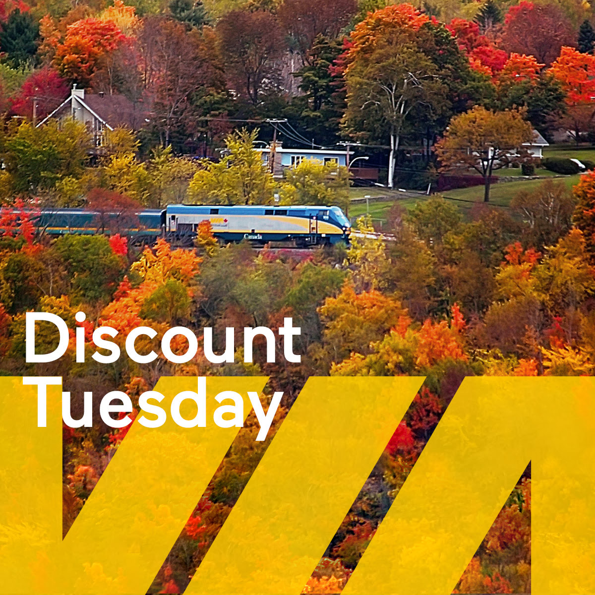 Via Rail Canada Discount Tuesday Offers: Big Savings Today!