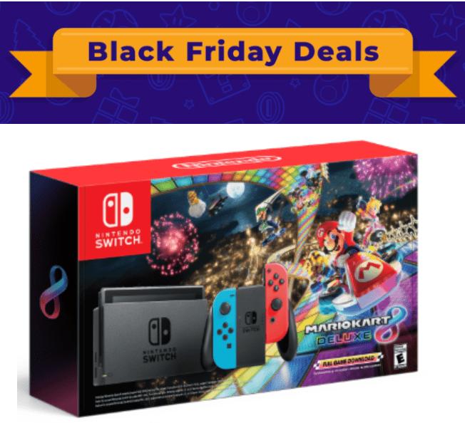 Nintendo Canada Black Friday 2019 Deals Get Nintendo Switch Mario Kart Bundle 399 99 More Deals Canadian Freebies Coupons Deals Bargains Flyers Contests Canada