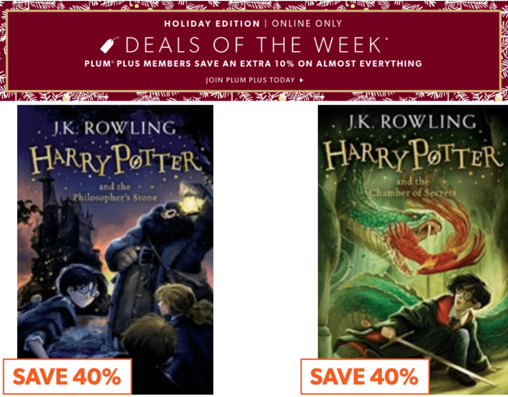 Indigo Canada Pre Black Friday Deals Of The Week: Save 40% off Select Harry Potter Books + More