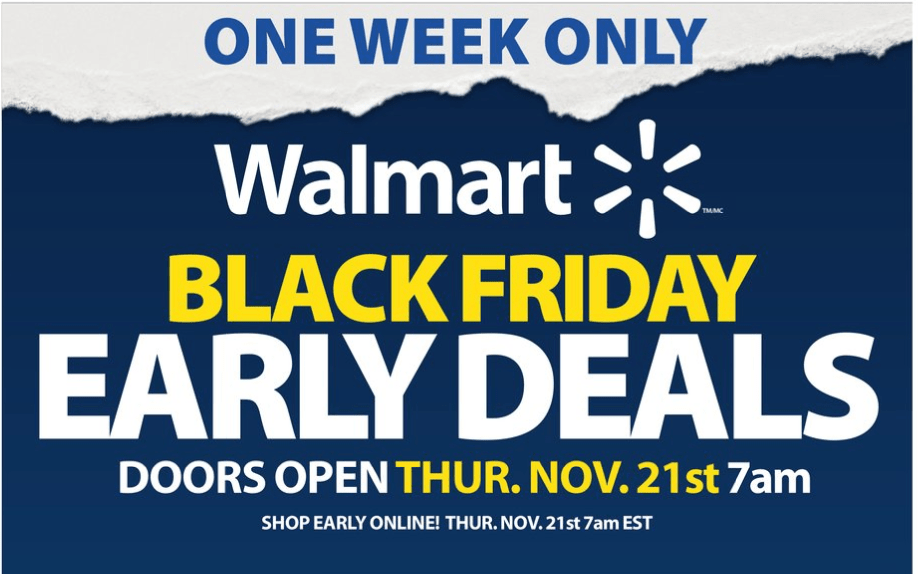 Walmart Canada Black Friday 2019 Early Deals Flyer Canadian Freebies Coupons Deals Bargains Flyers Contests Canada