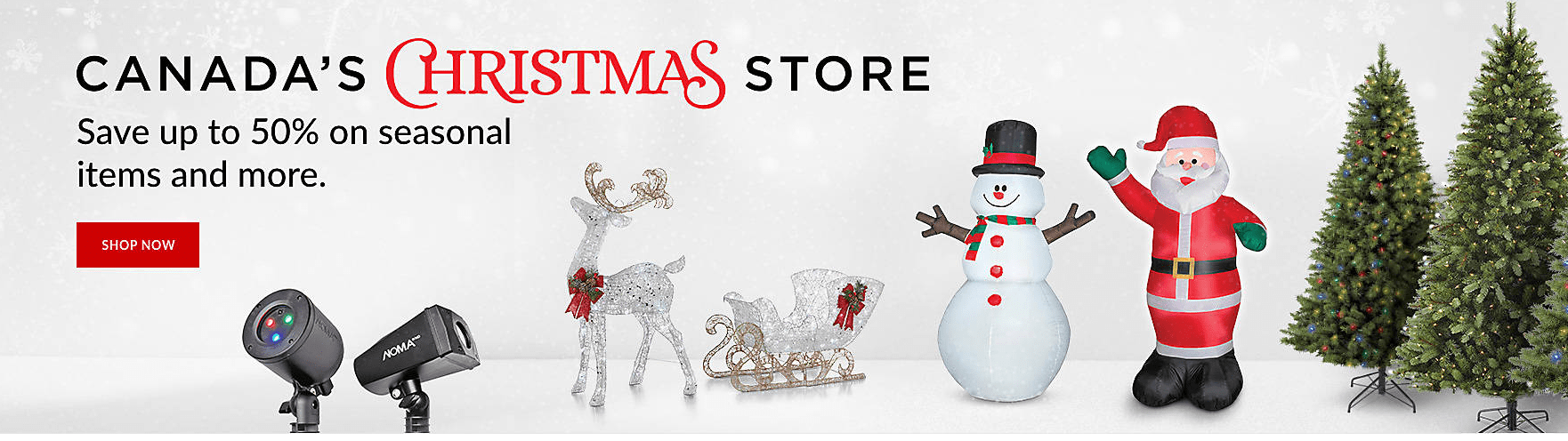 Canadian Tire Christmas Store Up to 50% Off + Save Big on Winter Tires + More