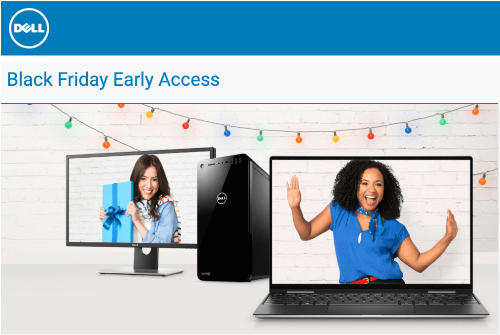 Dell Canada Black Friday 2019 Early Access Deals!