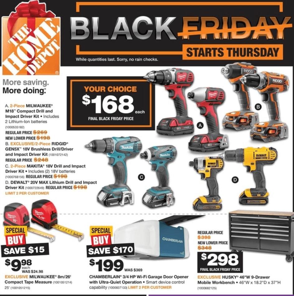 The Home Depot Canada Black Friday 2019 Flyer Deals Hot