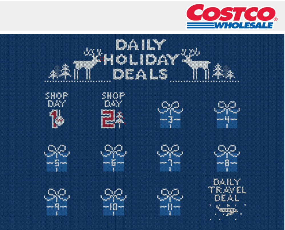 Costco Canada Daily Holiday Deals: New Deals Everyday!