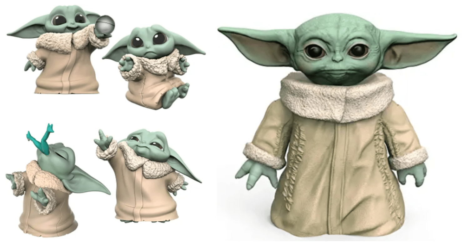 """Star Wars The Bounty Collection The Child Collectible Toys 2.2-Inch The Mandalorian /""""Baby Yoda/"""" Don/'t Leave Ball Toy Figure 2-Pack"""