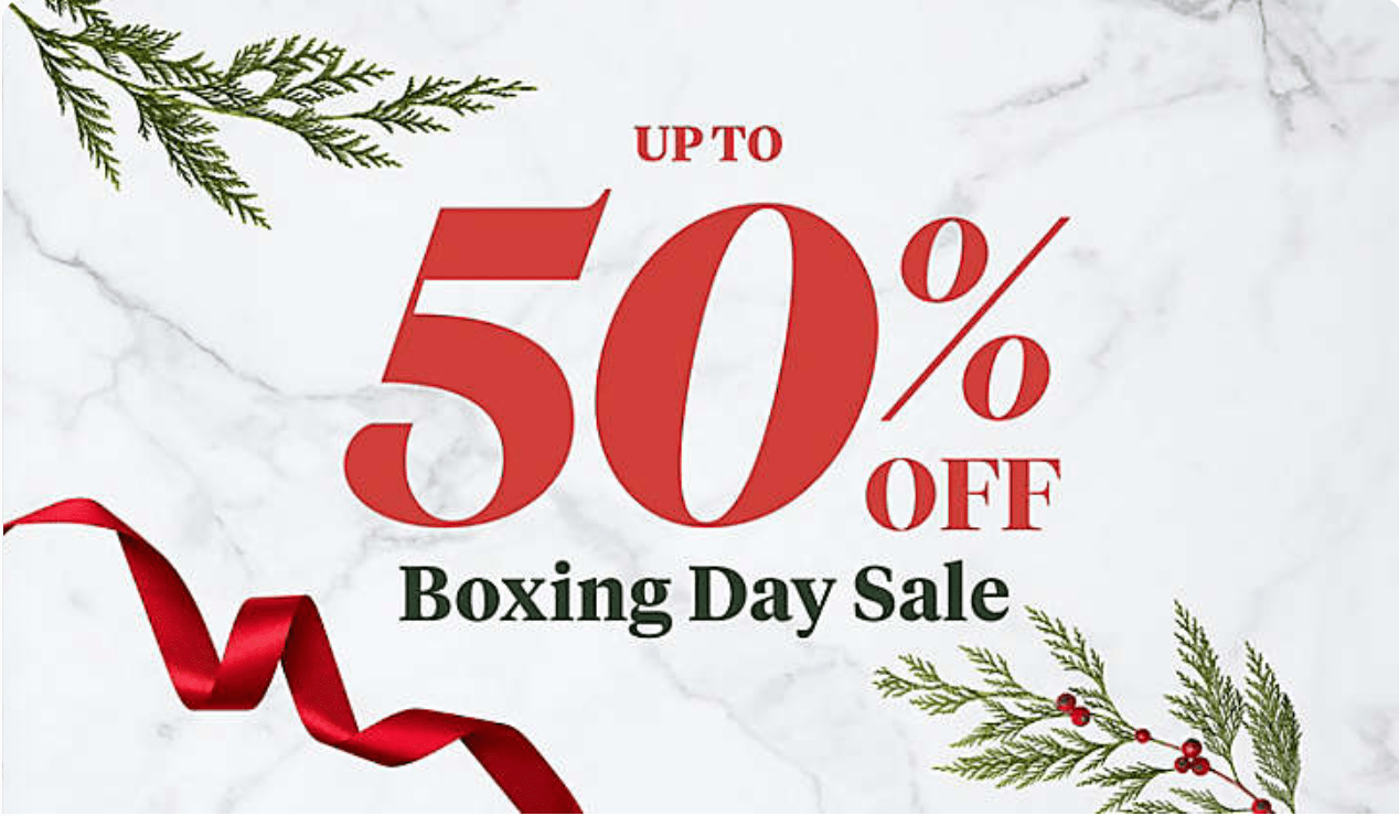 Bed Bath Amp Beyond Canada Boxing Day Sale Save Up To 50