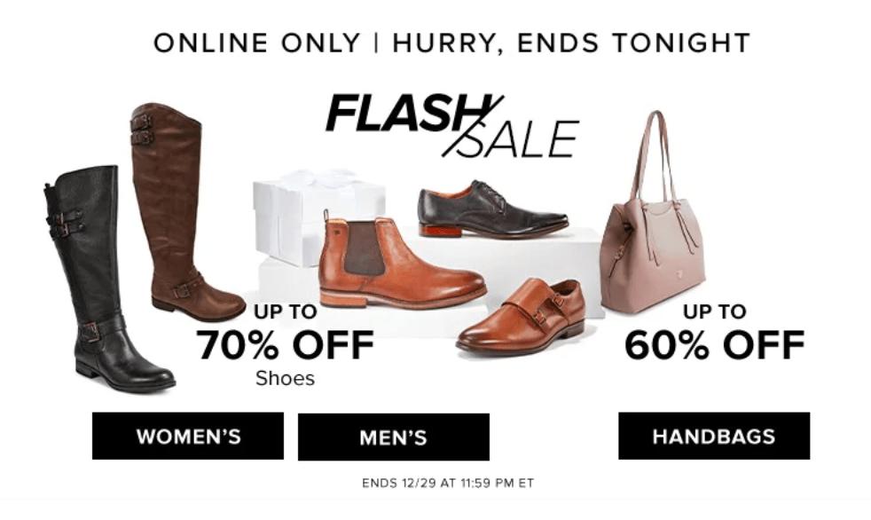 Hudson's Bay Canada Online Flash Sale