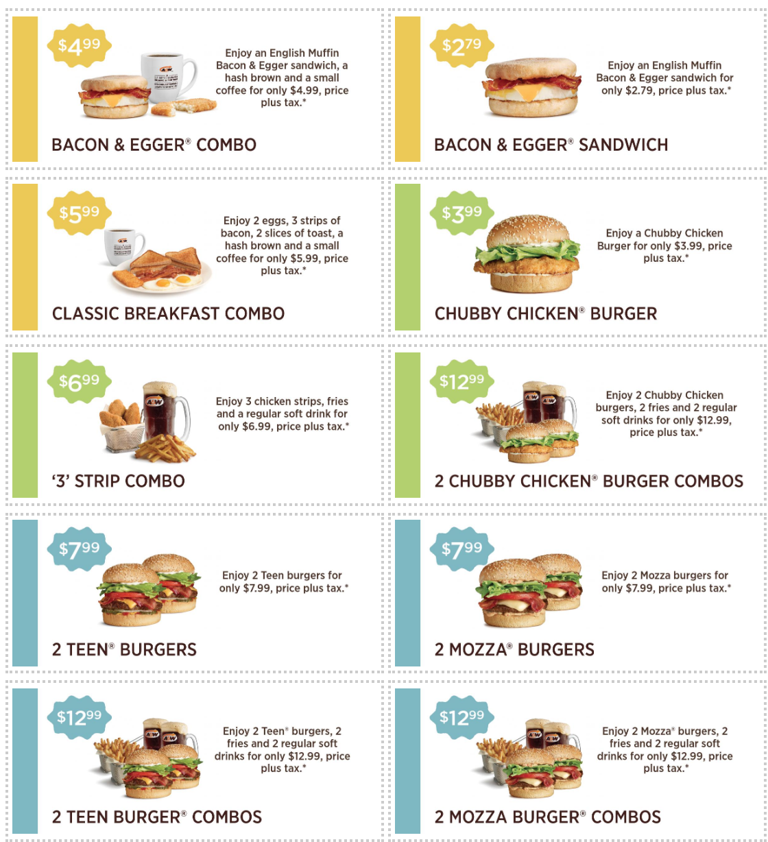 A&W Canada New Coupons & Promotions: Mama Burger Sandwich ...