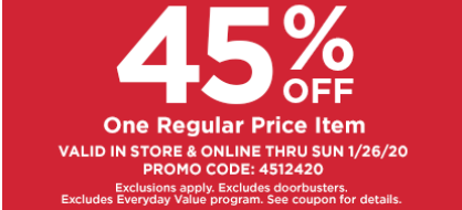 Michaels Canada Coupons & Flyers Deals: Save 45% off One Regular Price Item + Buy one, Get One Free + More