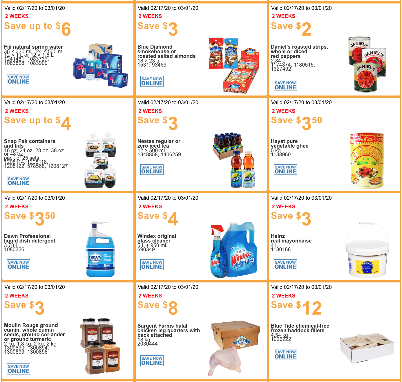 Costco Canada Business Centre Instant Savings Coupons ...