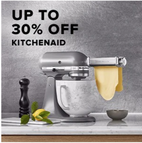 Hudson's Bay Canada Offers: Save up to 30% off KitchenAid + More Deals