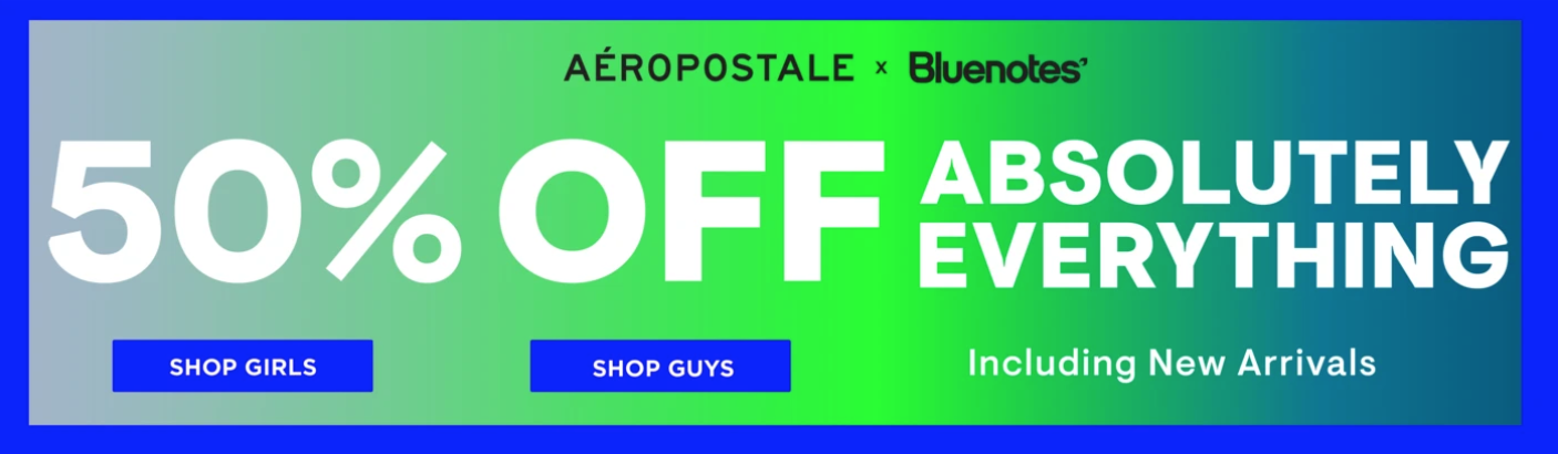 Bluenotes Canada Sale: Save 50% Everything Sitewide Including New Arrivals+ All Jeans $15 & up