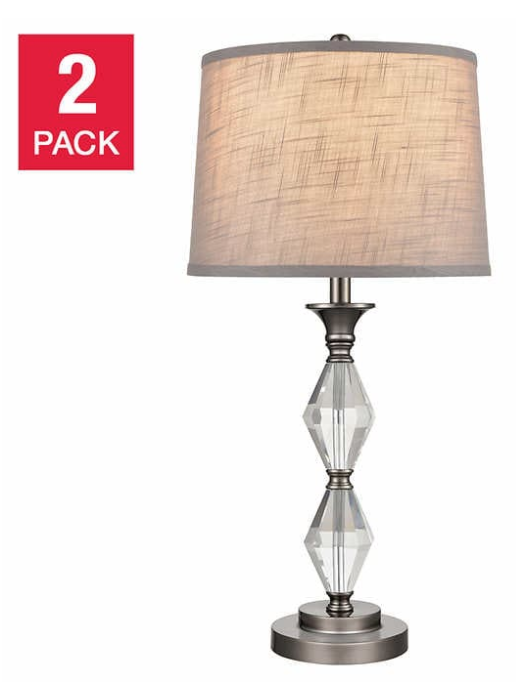 Costco Canada Hot Buys Offers: Crystal Lamps, 2-pack for $99.99 + More Offers
