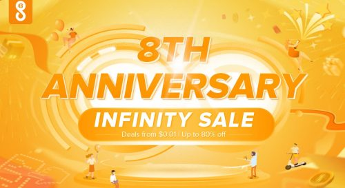 GeekBuying Canada 8th Anniversary Infinity Sale: Save Up to 80% OFF Many Items + Up to 60% OFF Father's Day Sale + More