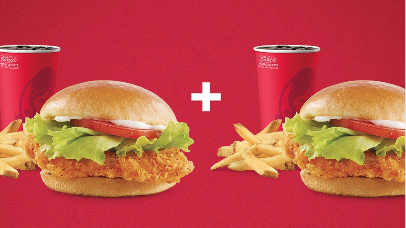 Wendy's Canada Promotions: Two Spicy Chicken Sandwich Combos for $13.99