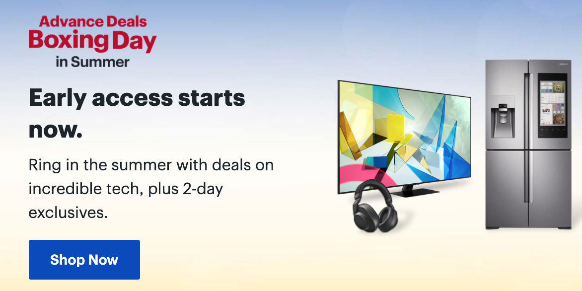 Best Buy Canada Boxing Day In Summer Sale Great Savings On Laptops Tvs Small Appliances More Canadian Freebies Coupons Deals Bargains Flyers Contests Canada