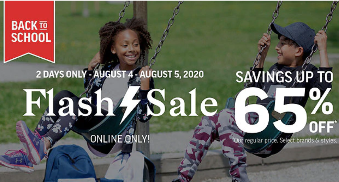 Sport Chek Canada Back to School Online Flash Sale: Save Up to 65% Off